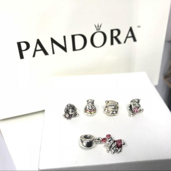 b2a31d1af Jewelry | 100 Authentic Pandora Winnie The Poo Chamrs | Poshmark
